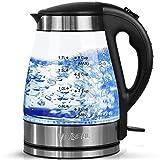 VivReal Glas Wasserkocher mit Beleuchtung