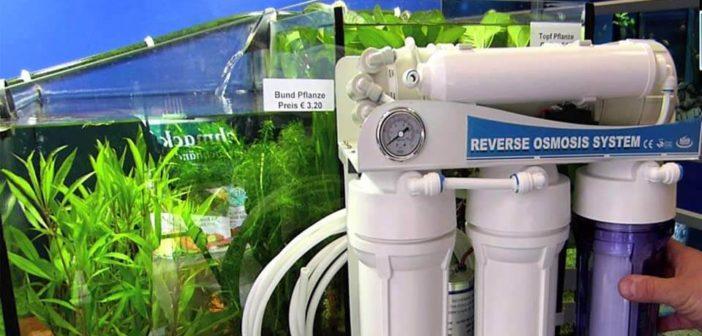 Umkehrosmosewasseranlage Test