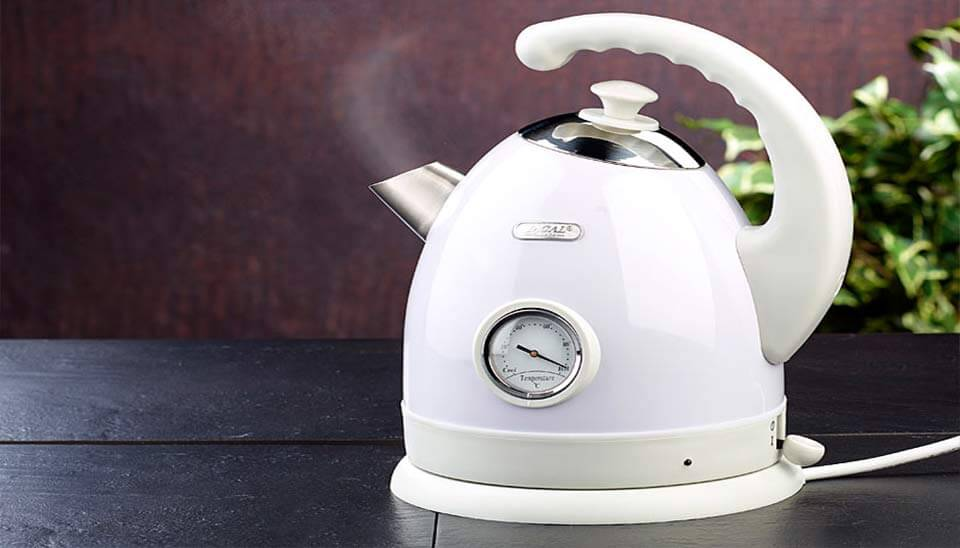 Wasserkocher mit Temperaturanzeige Test